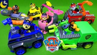 NEW Paw Patrol Mission Paw Toys Full Size Theme Mission Pup Vehicles Chase Marshall Rubble Skye Zuma