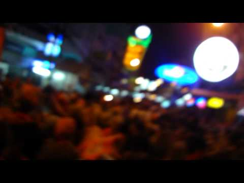 2010 World Cup Party on Khao San Road in Bangkok