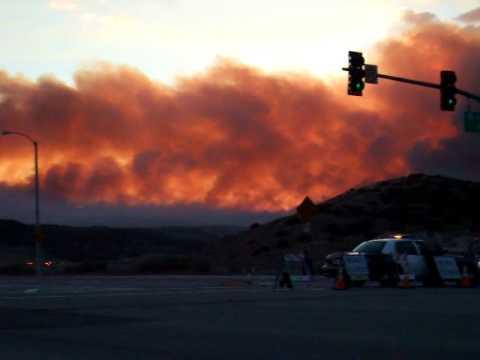 California Fires near Palmdale July 2010