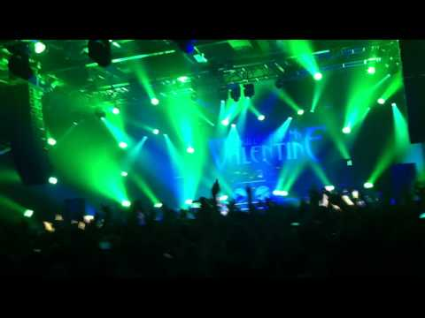 BULLET FOR MY VALENTINE LIVE Gothenburg 2010 - Your Betrayal