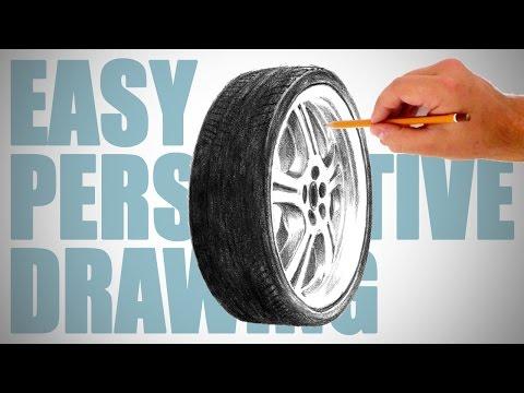 Видео как нарисовать колесо