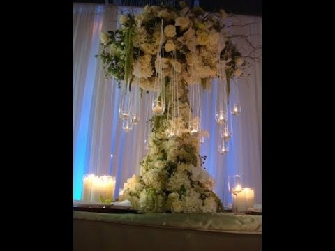 Wedding Buffet Ideas Using Candles For