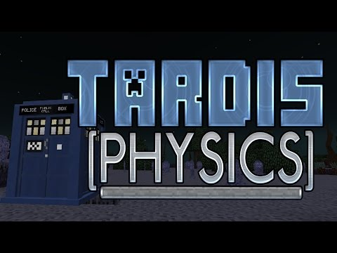TARDIS Physics in Minecraft! [Insane New WIP Feature] - #DWCM #iMine4WHO [DailyReport]