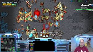 [30.4.19] 스타1 StarCraft Remastered 1:1 (FPVOD) Larva 임홍규 (Z) vs Mini 변현제 (P) 3판2선 [Best of 3]