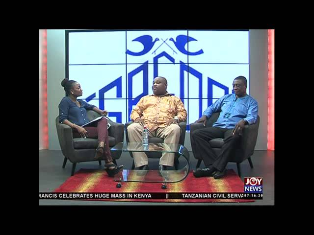 Greda exhibition fair - AM Show on Joy News (27-11-15)