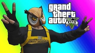 GTA 5 Online Funny Moments - Professional Flyer & Hydra Jet Madness!