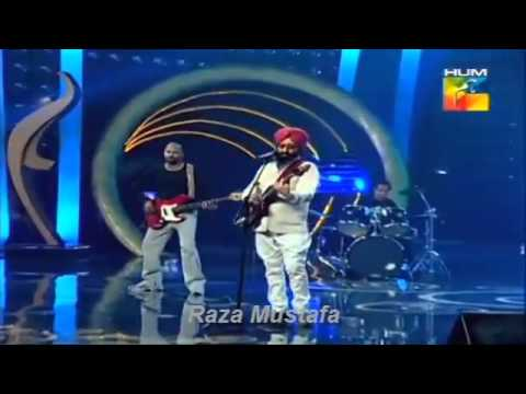 Bullah Ki Jana Rabbi Shergill Live Performance in 1st Hum Tv...