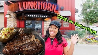 DINE-IN SATURDAYS| Ep.1 | Longhorn Steak house🍲