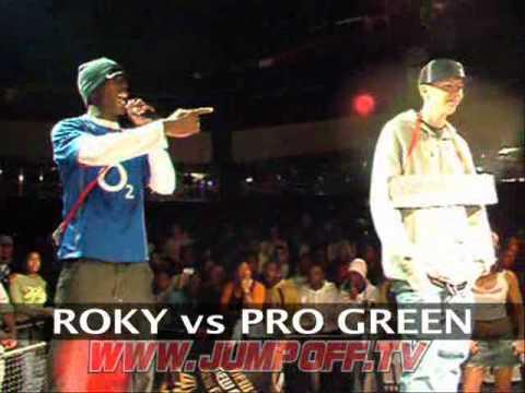 Professor Green vs Roky £2000 MC Rap Battle Final (The Jump Off 68)