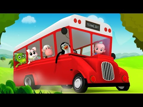 Wheels On The Bus | Junior Squad | Nursery Rhymes For Babies | Cartoons For Toddlers by Kids Tv