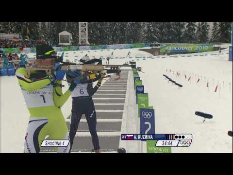 Biathlon Women 10Km Pursuit Complete Event | Vancouver 2010