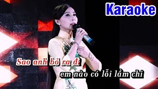 Karaoke Tội Tình (Beat Chuẩn) - Karaoke Tone Nữ || Ngọc Kiều Oanh Karaoke