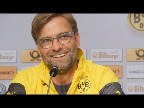 Pressekonferenz: Jürgen Klopp und Mats Hummels vor dem DFB-Pokalfinale gegen Wolfsburg
