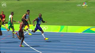 Kerron Clement Wins Gold in 400-meter Hurdles