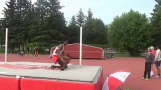 2014 Ottawa Twilight #3  - Yvan Ntivumbura 2nd and 3rd attempt at 1.95m