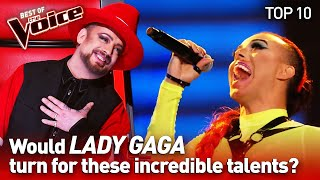 download lagu LADY GAGA's biggest HITS in The Voice   TOP 10 mp3