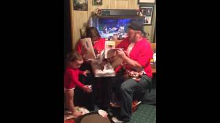 Gracie tells Grandma and Grandpa she's going to be a Big Sister