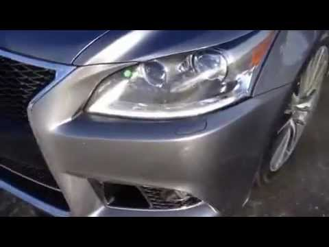 2013 Lexus LS 460 F Sport Test Drive and Video Review AWD 4 Door Sedan