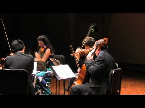 This is the world premiere performance of Adam Neiman's String Quartet, composed in 2011. The concert took place on July 16, 2012 at the Seattle Chamber Music Festival. This self-published...