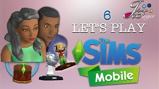 The Sims Mobile LET'S PLAY | PART 6 | RETIREMENT | 👵🏽 👴🏽