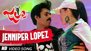 Jennifer Lopez Video Song    Jalsa Telugu Movie    Pawan Kalyan , Ileana