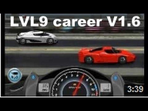 Drag Racing win complete level 9 career Ferrari FXX with 1 tune setup V1.6