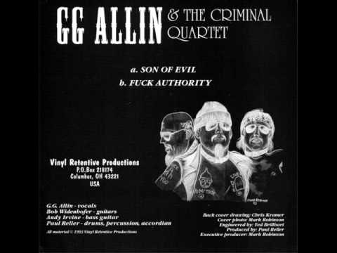 Gg Allin - Son Of Evil