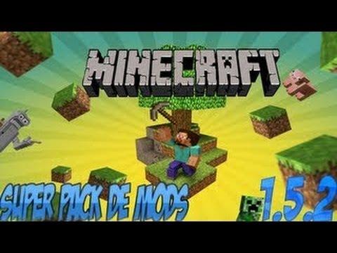 Pack de 40 Mods para Minecraft 1.5.2