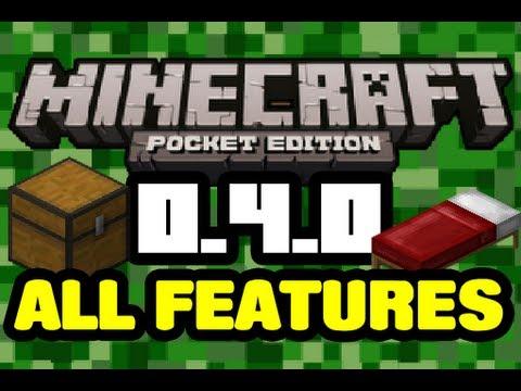 Update 0.4.0   All Features Showcase   Minecraft Pocket Edition