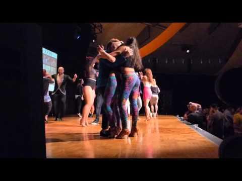2016 Sydney International Bachata Festival - Juan Calderon, Kristi and Shade freestyle