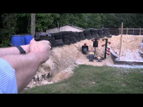 Taurus 24/7 Pro .45 Pistol Shooting