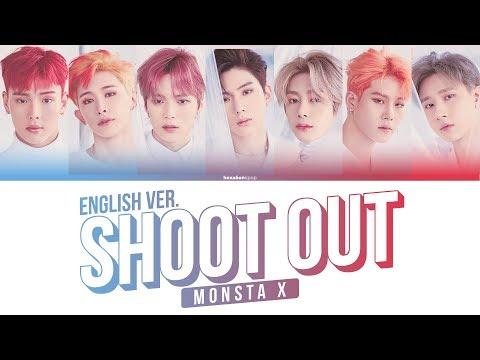 MONSTA X - SHOOT OUT English Ver. Lyrics (Color Coded Eng) | 몬스타엑스 - 슛아웃