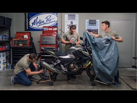 How To Winterize Your Motorcycle Mc Garage
