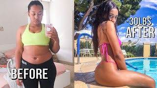 HOW I LOST 30 POUNDS IN 2 MONTHS + THE TRUTH on How to lose weight | My Weight Loss Journey