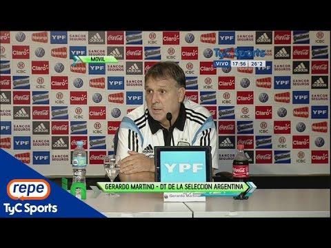 Gerardo Martino palpitó los amistosos de la Selección Argentina y la Copa América