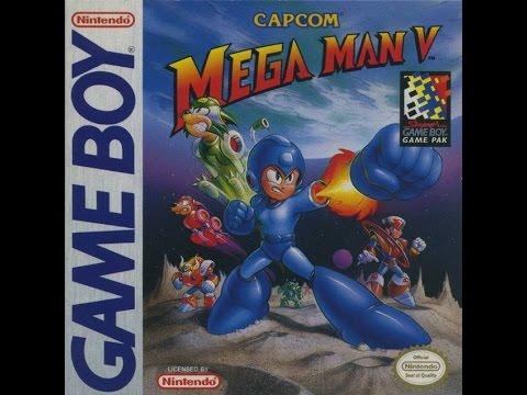 Game Boy Mega Man V Video Walkthrough