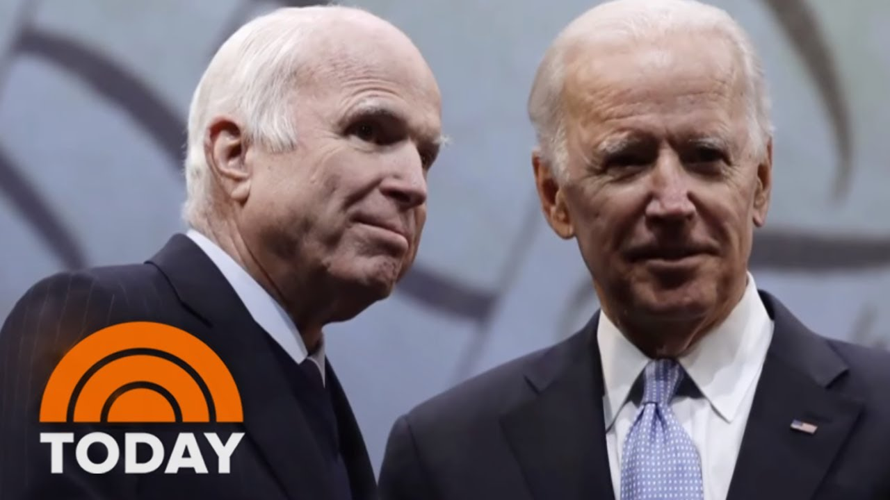Joe Biden Bids Emotional Farewell To John McCain In Arizona   TODAY