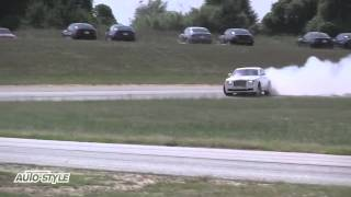 How to drift a Rolls Royce