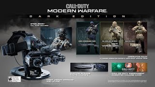 First Look at Call of Duty: Modern Warfare Dark Edition w. Working Night Vision Goggles!