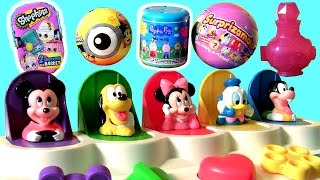Funtoys Disney Baby Mickey Mouse Clubhouse Pop-Up Pals Toys Surprise Eggs Funtoyscollector