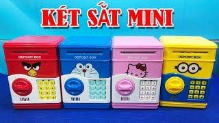 Đồ chơi két sắt mini rút tiền thông minh cho bé - ATM Machine Toys For Kids (chị Chim Xinh)