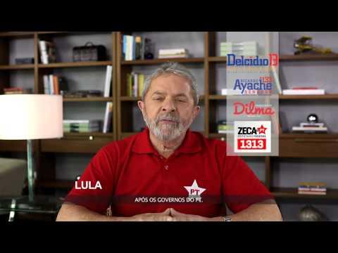 Programa Eleitoral Zeca do PT 1313 e Lula