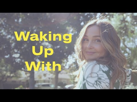 Camilla Luddington's Morning Involves Two Dogs, One Baby, and Kitchen Beauty Hacks   ELLE