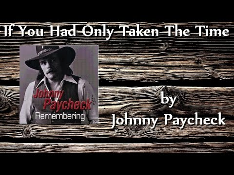 Johnny Paycheck - Im Remembering