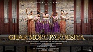 Ghar More Pardesiya - Kalank   Alia & Madhuri   Shreya Ghoshal   Vaishali Mhade   Choreography