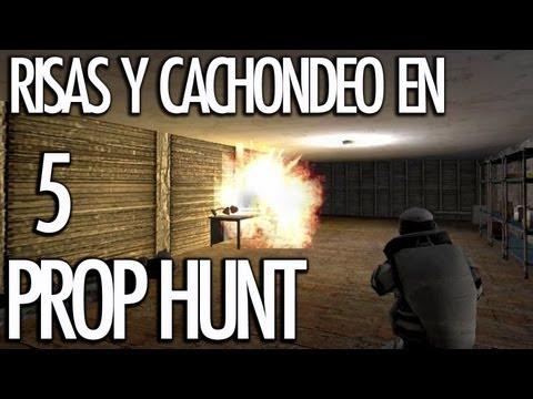 PROP HUNT 5: Risas y Cachondeo! VENGANZAAAA!! - [LuzuGames]