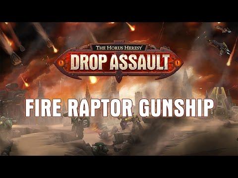 Fire Raptor Gunship | The Horus Heresy: Drop Assault - Warhammer 40,000