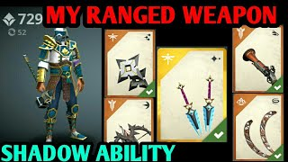 Shadow fight 3 My Ranged Weapons New shadow ability