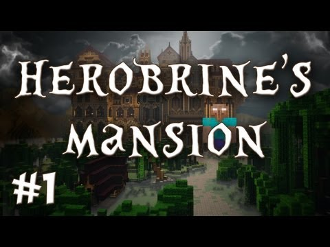 Herobrine's Mansion - Where Did The Moon Go?! (Part 1)