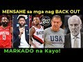 USA Talo na naman sa Serbia! NBA Players na NAG BACK OUT Mark...